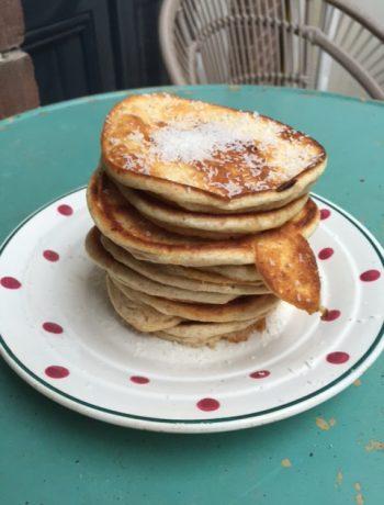 Volkoren spelt pancakes
