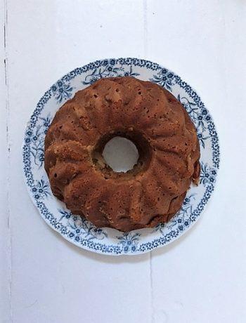 appel tulband, cake, bakken, zondag bakdag, kokosbloesemsuiker, goed zoet, appel