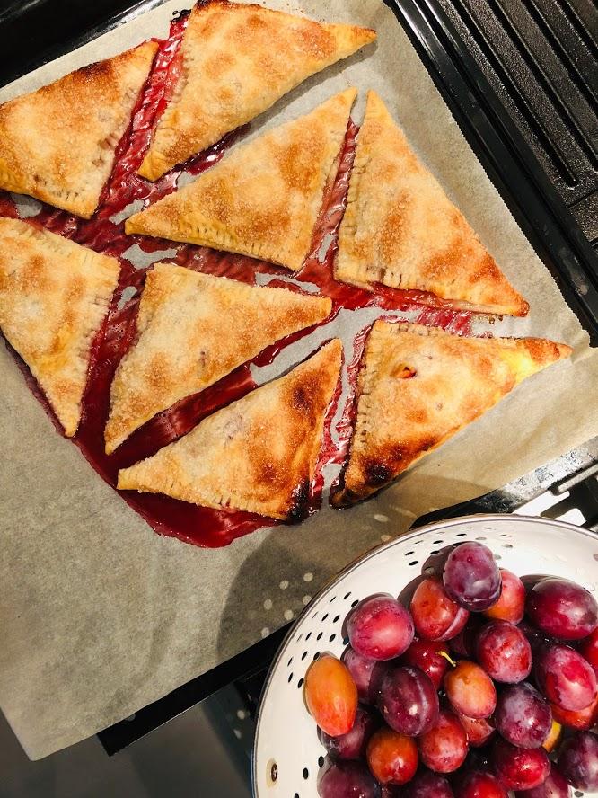 pruimen appel flappen, recept, makkelijk, gezond, veganistisch, vegetarisch